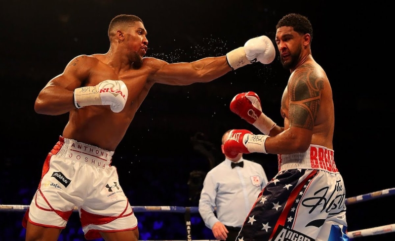 anthony joshua boxing