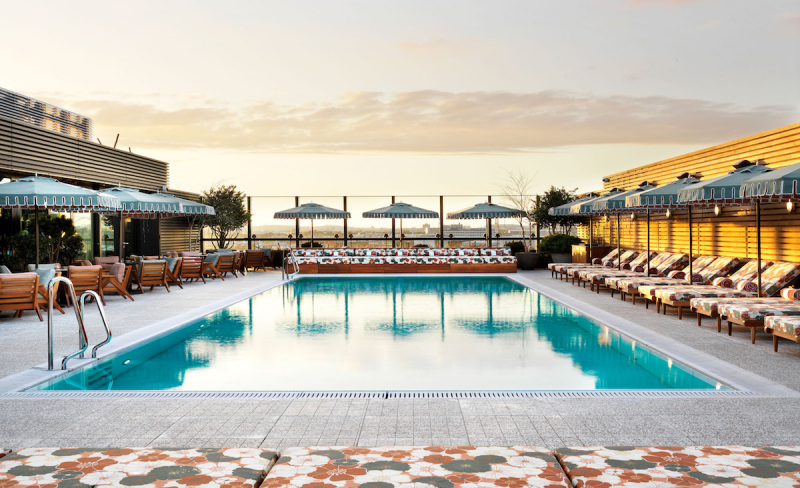 soho house pool side club