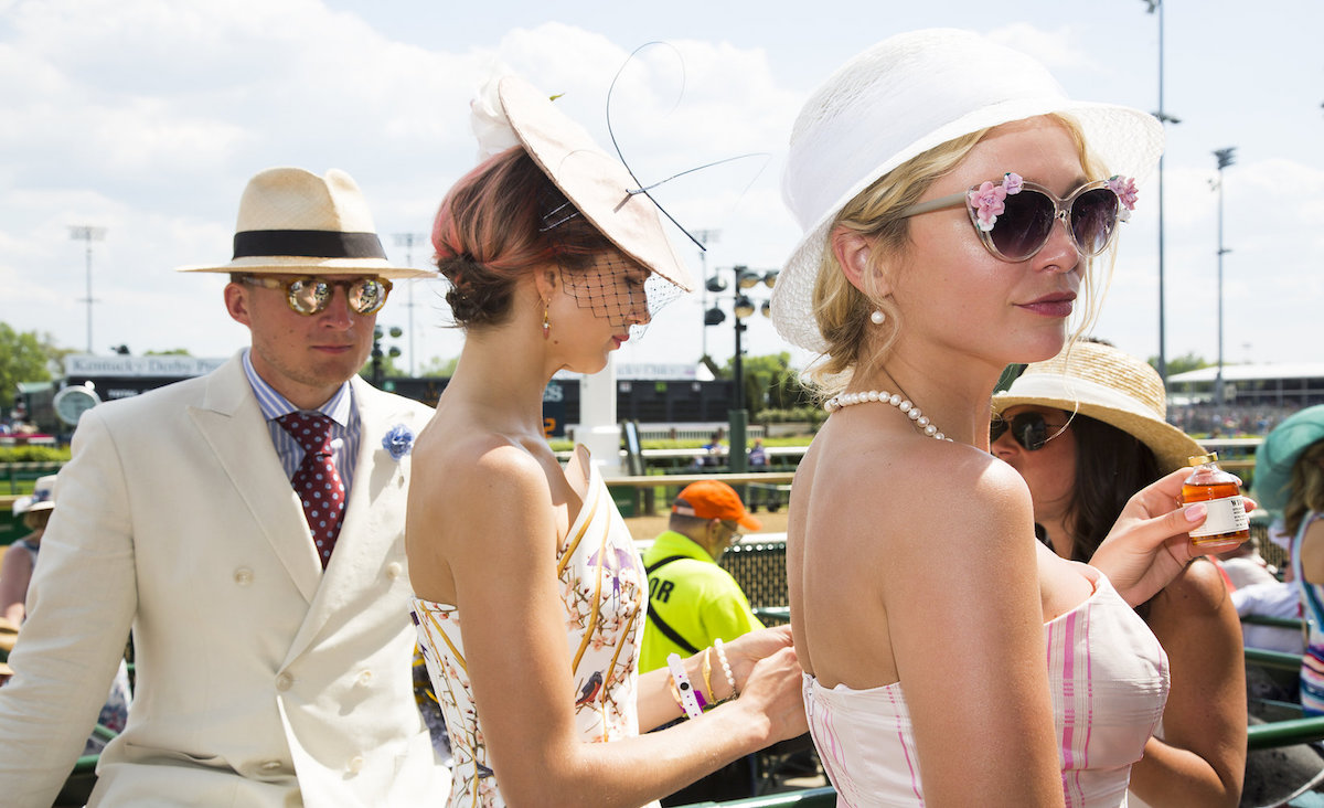 picture of kentcky derby event from vogue