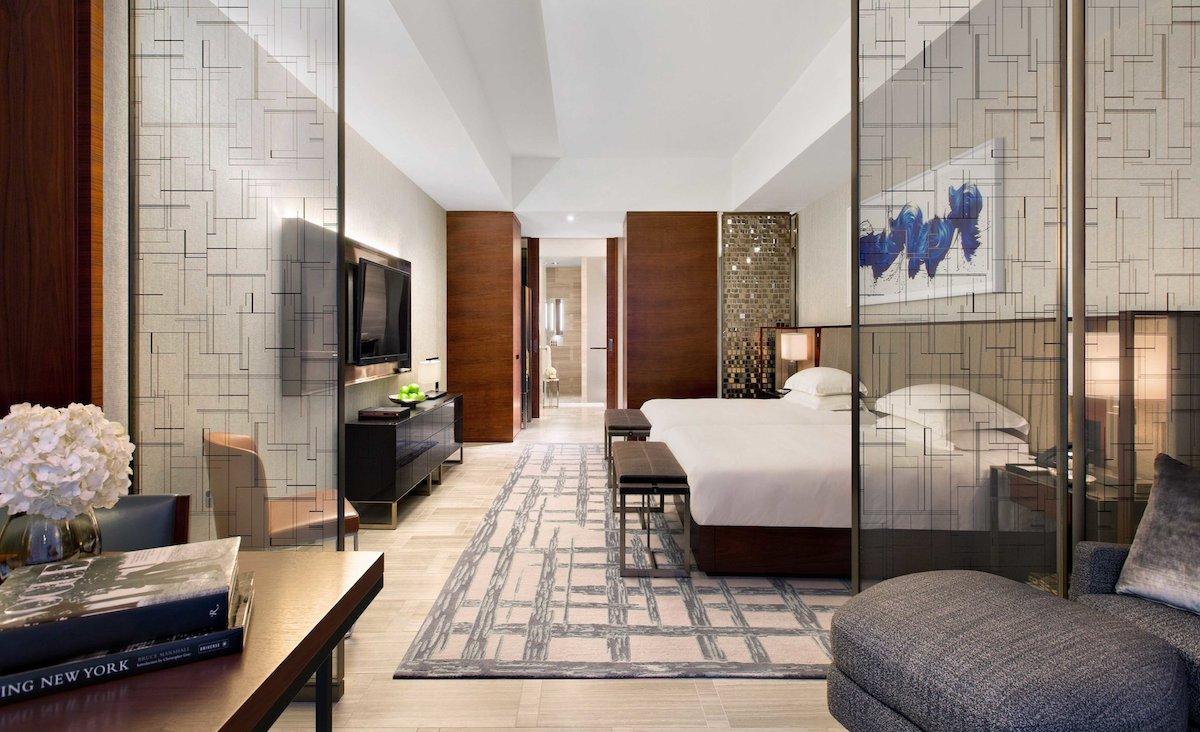 inside hotel room park hyatt new york